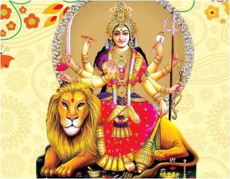 Sapne Me Vaishnodevi Ko Sher Ki Sawari Karte Dekhna
